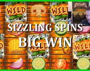 BIG WIN ON SIZZLING SPINS — NEW PLAY'N GO SLOT!!