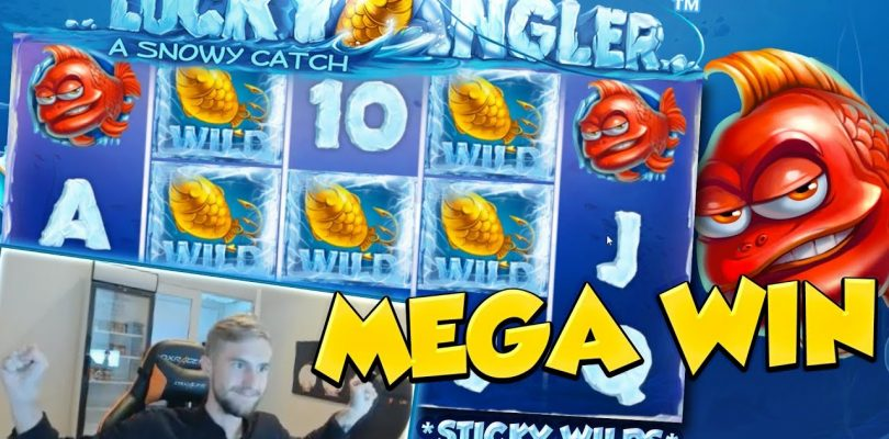 BIG WIN!!! Lucky Angler Huge win — NetEnt — free spins (Online slots)
