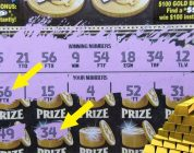 BIG WIN!!..$4,000,000 GOLD BULLION LOTTERY TICKET SCRATCH OFF!!