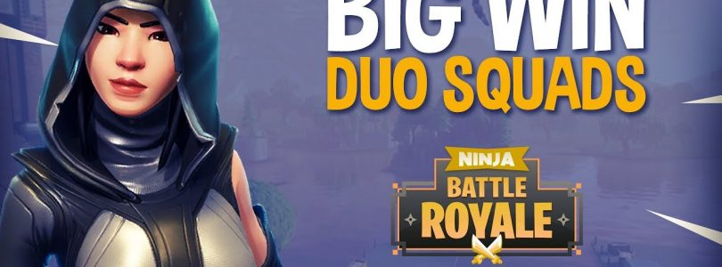 Big Win!! Duo Squads — Fortnite Battle Royale Gameplay — Ninja & Symfuhny