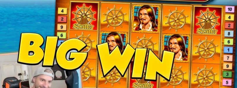 BIG WIN!!! Captain Venture BIG WIN — Bonus round — free spins (Online slots)