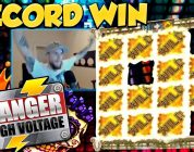 RECORD WIN!!! Danger High Voltage Big win — Casino — Online slots — Huge Win
