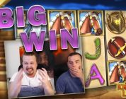 Big win with 4 scatters in Knight's Life slot!