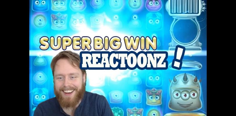 Reactoonz BIG WIN and PACKAGE OPENING