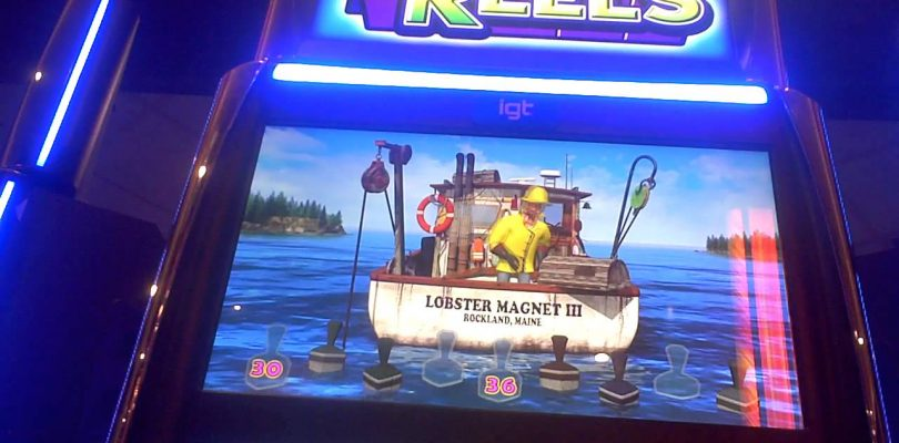 Lucky Larry Lobstermania 3 Slot Machine SUPER BIG WIN Bonus(2)