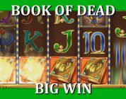 BIG WIN ON BOOK OF DEAD — 10€ BET!!