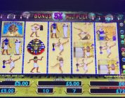 Pharaohs Fortune Deluxe £5 a spin bonus with big win
