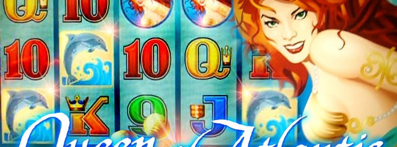 Queen of Atlantis BIG WIN BONUS + LIVE TOP HIT!!!  — 5c Aristocrat Video Slots