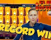 RECORD WIN!!! Flame Busters Big win — Casino — free spins (Online Casino)