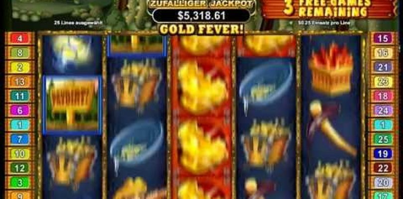 Paydirt Slot — Gold Fever Feature — Big Win