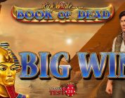 BIG WIN ON BOOK OF DEAD SLOT (PLAY'N GO) — 5€ BET!