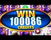★BUFFALO MANIA! HUGE BIG WIN★ WONDER 4 TOWER BUFFALO! SUPER FREE GAMES! | Slot Machine Bonus