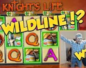 WILD LINE?!?! RECORD WIN!!! Knights Life Big win — Casino Games — Huge Win