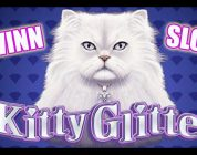 Kitty Glitter BIG WIN! Slot Machine BONUS Fun!!