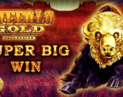 *SUPER BIG WIN* in a retrigger city of Buffalo Gold — Slot Machine Bonus