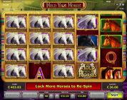 Hold Your Horses Slot — Freespins with retrigger 6€ Bet — Big Win!