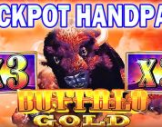 ★★JACKPOT HANDPAY ★★ BUFFALO GOLD SLOT MACHINE BONUS MEGA BIG WIN Aristocrat Slots