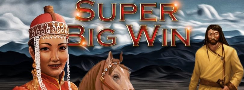 SUPER BIG WIN ON MONGOL TREASURES SLOT (ENDORPHINA) — 1€ BET!