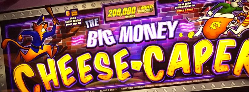 HUGE WIN!!! LIVE PLAY on Big Money Cheese Caper Slot Machine w/ SDGuy1234