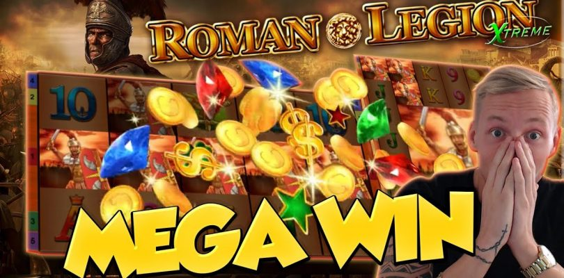 BIG WIN!!! Roman Legion Extreme BIG WIN — Casino Games — free spins (gambling)