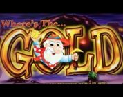 WHERE'S THE GOLD : MAX BET — HUGE WIN — ARISTOCRAT