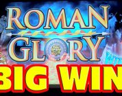 Roman Glory — SUPER BIG WIN + RETRIGGER — New Las Vegas Slot Machine