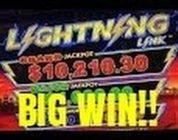 LIGHTNING LINK SLOT MACHINE BONUS-SUPER BIG WIN!