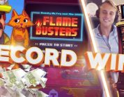 MUST SEE!!!! RECORD WIN ON FLAME BUSTERS HUGE WIN (Casino — Big win)