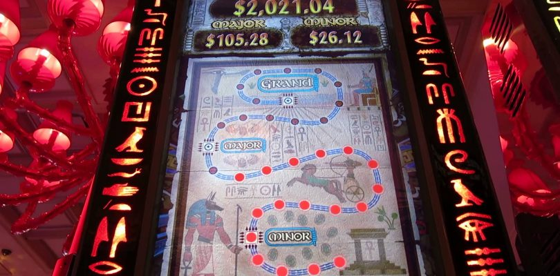 THE MUMMY Max Bet Slot machine Bonus. Big Win, Encore, Las Vegas