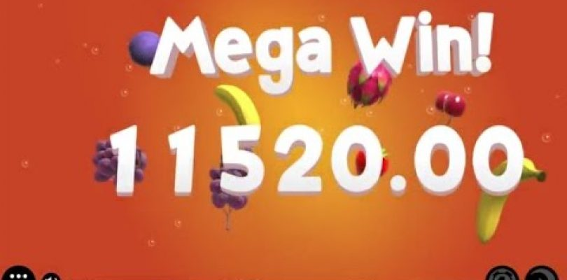 The Mega Big Win Come Back — Fruit Warp