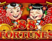 BIG WIN AGAIN on 88 FORTUNES SLOT POKIES BONUSES & PROGRESSIVES