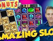 DONUTS BIG WIN from LIVE STREAM — Casino Games — Bonus Round (slots)