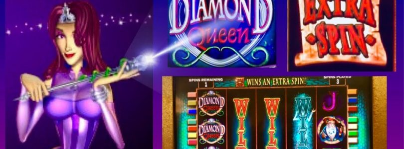 BIG WIN $$$ MAX BET BONUS★DIAMOND QUEEN SLOT★EXTRA SPIN★MIGHTY CASH WIN!