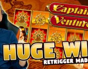 HUGE WIN!! Captain Venture Big Win — Casino Games — Slots (10€ bet)