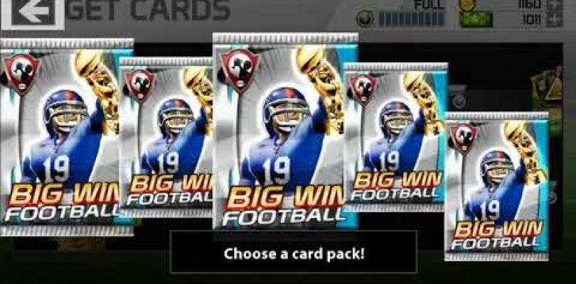 Who will be our Quarterback? — Big win football pack opening