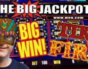 I ♥️ TIKI FIRE!! BIG WIN ON LIGHTNING LINK ⚡ FEATURE ROUND! | The Big Jackpot
