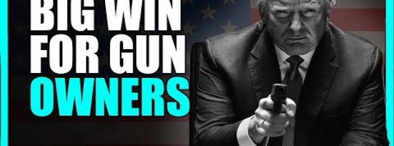 Big Win For Gun Owners and For Second Amendment Advocates Everywhere