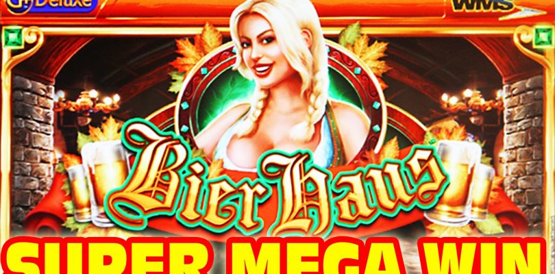Bier Haus SUPER MEGA BIG WIN + Retriggers Slot Machine Bonus