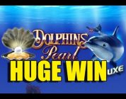 RECORD WIN Dolphins Pearl Deluxe BIG WIN — HUGE WIN betsize 8 euro — Epic reactions