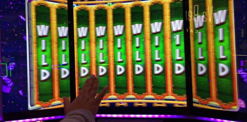 WORLD OF WONKA SLOT MACHINE! BIG WIN AT COSMOPOLITAN, LAS VEGAS