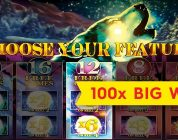 Timber Wolf Deluxe Slot — 100x BIG WIN — $5 Max Bet Bonus!
