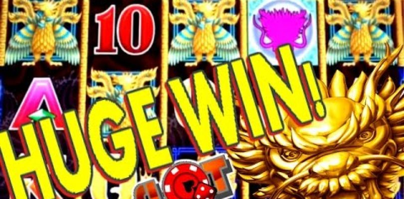 **SUPER BIG WIN** 5 DRAGONS HUGE MULTIPLIER WIN | SlotTraveler | SLOT MACHINE BONUS