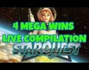 STARQUEST (BIG TIME GAMING) MEGA BIG WINS! COMPILATION