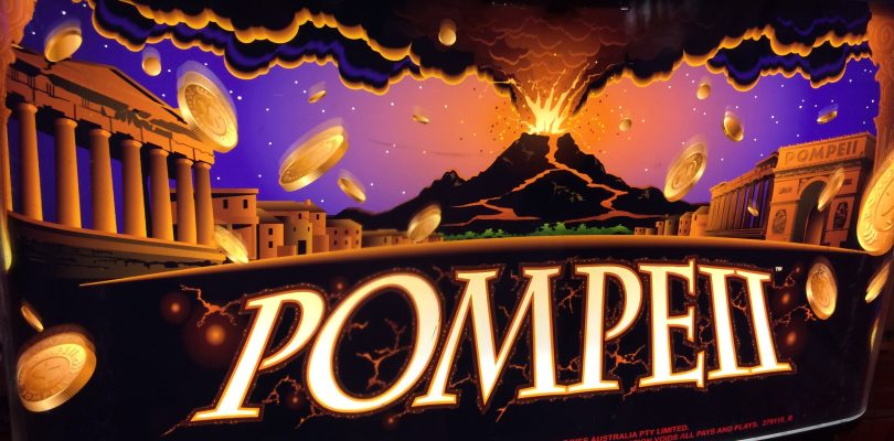 Pompeii Slot Machine Two Bonuses — 5 Symbol Trigger — Big Win — TBT