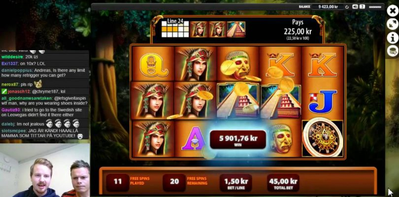 Montezuma big win in bonus