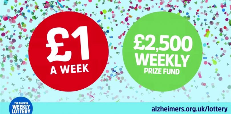 Alzheimer's Society Big Win Weekly Lottery