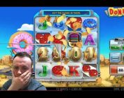 Single slot series £600 VS Donuts — «BIG WIN»