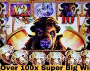 ☆SUPER BIG WIN☆ Buffalo Gold Slot Machine Max Bet Bonus | Tripple Jackpot GEMS Slot Live Play $9 Bet