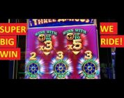WE RIDE!!! SUPER BIG WIN!!! THREE AMIGOS AND I ! SLOT & POKIES