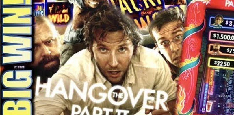★BIG WIN SE$SION! HOT MACHINE!★ THE HANGOVER PART II (MAX BET) FROM $50 TO? Slot Machine Bonus (IGT)